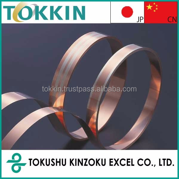 copper clad steel sheet /coil, thickness 0.04-1.2mm, width 5.0-150mm,