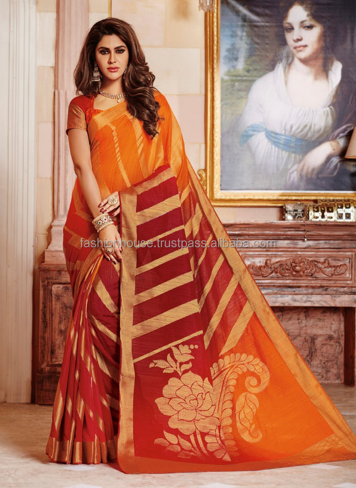 Exporter of Designer sarees and blouses