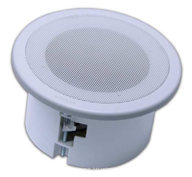 Dual Cone Ceiling Speaker With ABS Enclosure