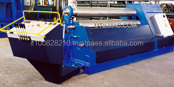 2500 x 8 mm thickness plate bending machine