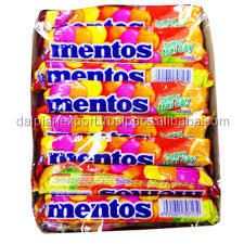 Mentos Fruit Flavour Candy