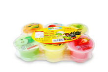 Jeram's Brand Halal Plastic Pudding Cup with Nata De Coco