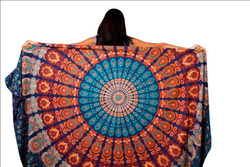 indian tribal handmade tapestry wall hanging mandala tapestry
