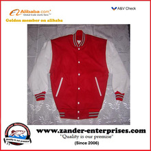 Plain varsity jacket OEM supplier