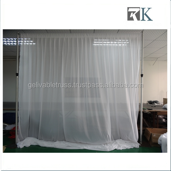Pipe and Drape Photo Booth for Event and Party Item Type