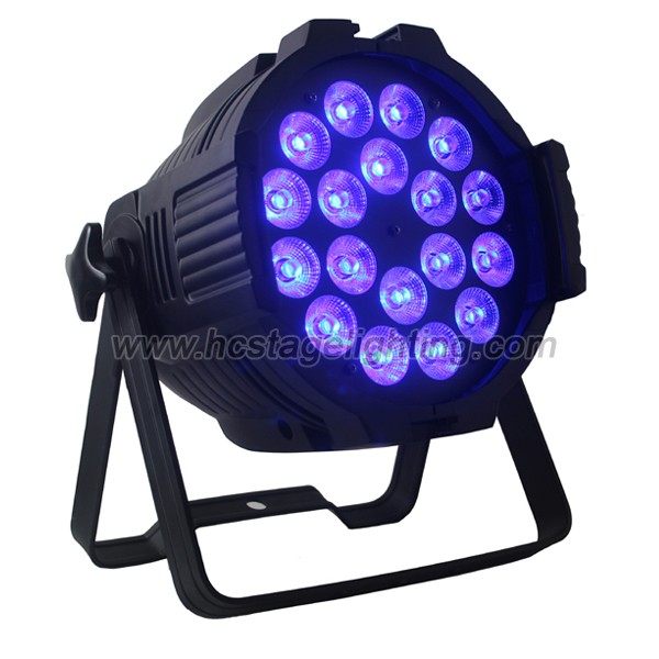 Wholesale price for 18X15w led par or 5 in1 RGBWA led par can light