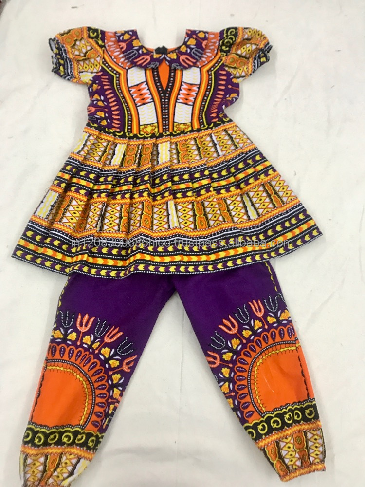 Dashiki Toddler Girls Dress