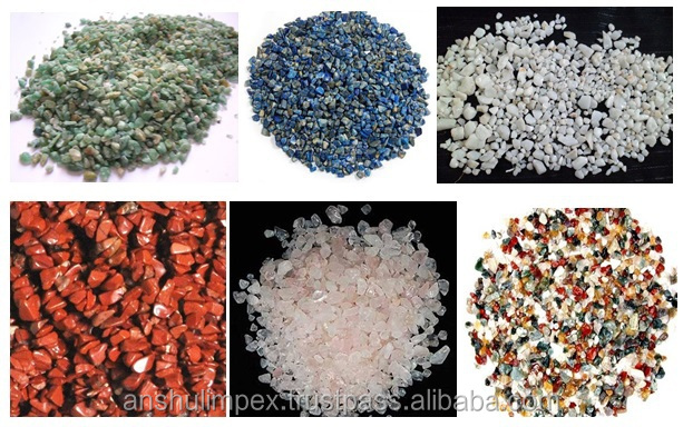 Un-Polished White Pebbles for Landscaping and decoration