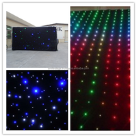 china wholesale led best place to buy curtains for concernt/party