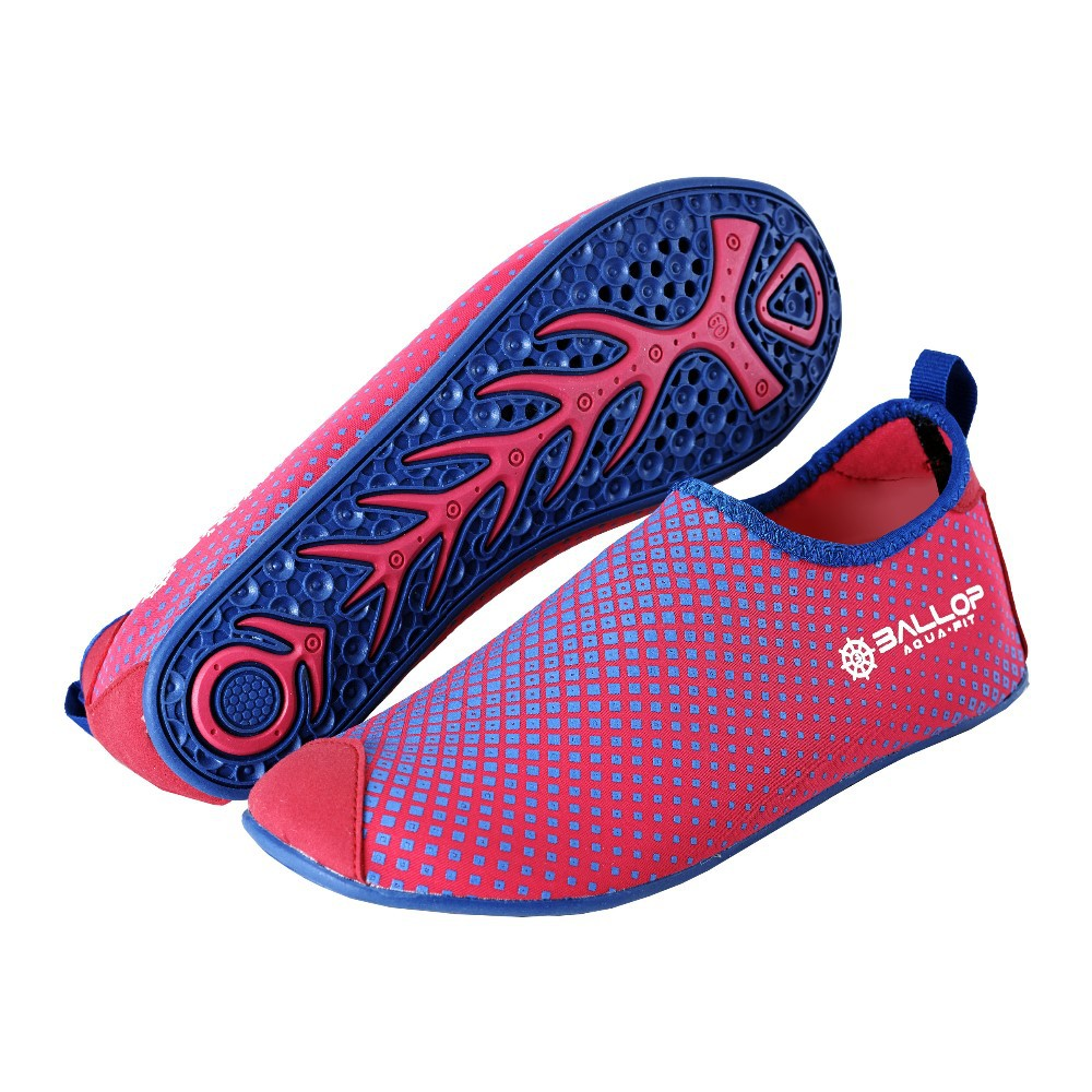 Aqua shoes, Water shoes, Beach, Skin shoes, Swim shoes, Water sports shoes, Gym, Yoga shoes, Driving shoes---BALLOP DIA PINK