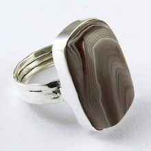 Simple the best!! Botswana ágata anillo plata esterlina 925, Bisuteria de plata <span class=keywords><strong>al</strong></span> <span class=keywords><strong>por</strong></span> <span class=keywords><strong>mayor</strong></span>, Plata bisuteria