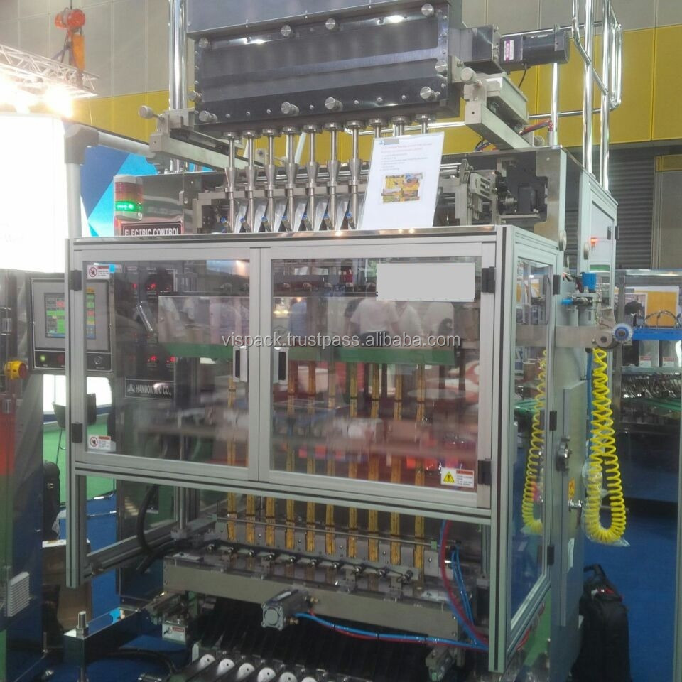 Stick Packing Machine; Auger screw feeding type; fully auto packing machine