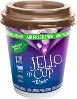 NATURAL FRESH JELLO IN CUP air freshener in gel
