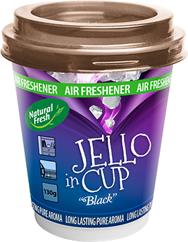 NATURAL FRESH JELLO IN CUP car airfreshener in gel
