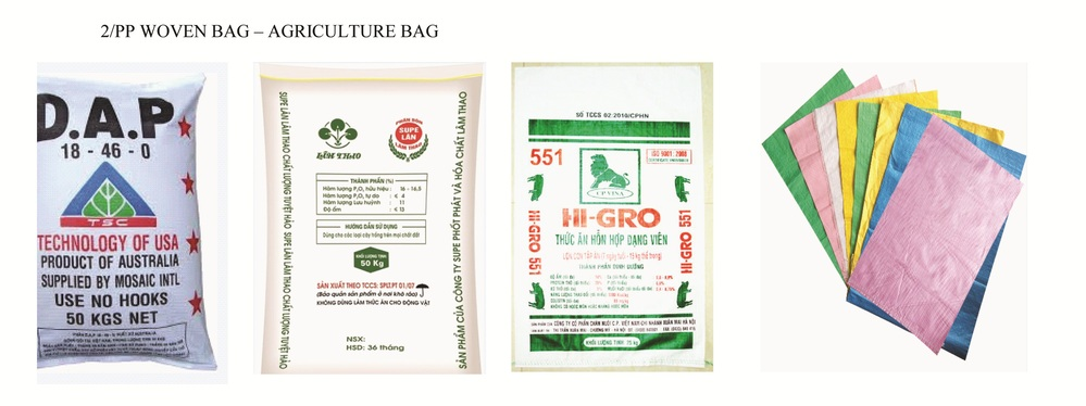PP woven packaging bag export in Vietnam for packaging rice, seed, corn, chemical