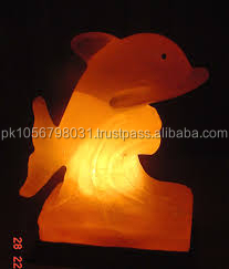 Best Quality Fish Shape Himalayan Salt Lamps / Rock Salt Lamps / Himalayan Decoration Lamps Pakistan
