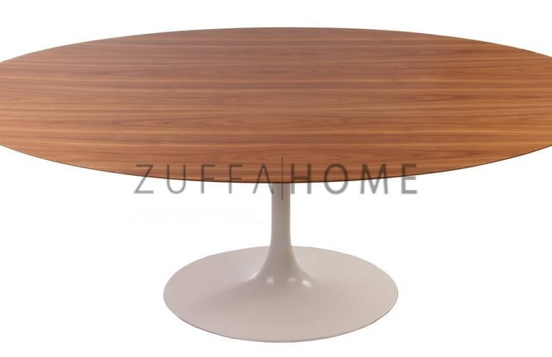 Wooden Oval Tulip Table