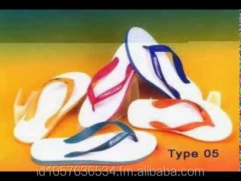 Swallow cheap rubber beach flip flop wears by Korean Singer (Indonesia original product)