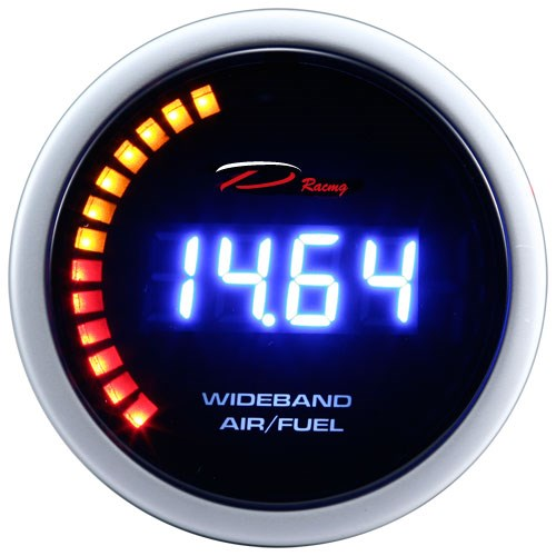 52mm Air Fuel Ratio O2 sensor Wideband Gauge