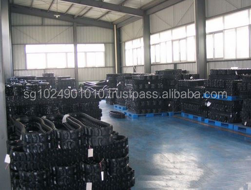 hot sale for Rubber crawler/excavator rubber track/ rubber track for rubber tracked directional drill