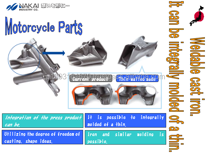 Reliable 200cc japan motorcycle casting with multiple functions