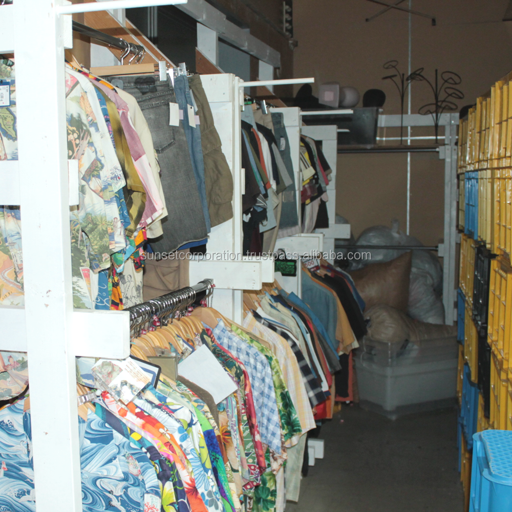 Wide variety of fashionable clothing and accessories , second hand items from Japan