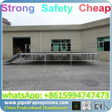 portable decent stage for outdoor events folding portable stage equipment