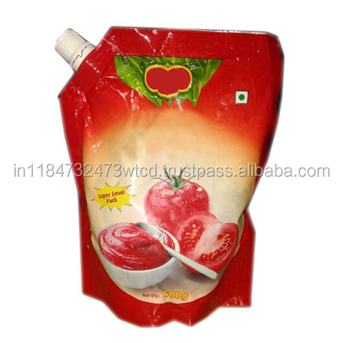 Ketchup & mayonnaise packaging material