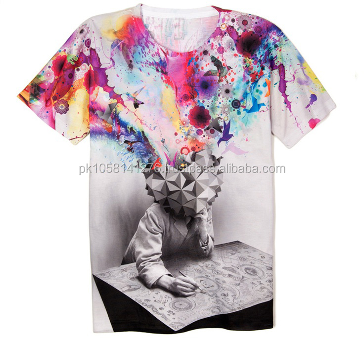 Sublimation Tshirts 2017, Summer Collection, Short Sleeve Tshirts
