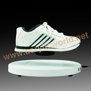 revolving magnetic display stand/magnetic floating globe display /floating shoe display