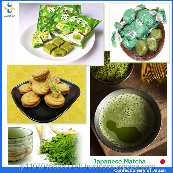 Flavorful and Hot-selling nishio matcha green tea confectionery with many products made in Japan