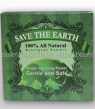Save the earth natural detergent powder