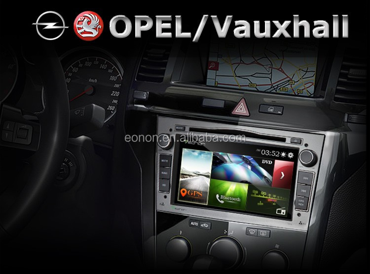 EONON D5154Z Gray 7 Inch Digital Touch Screen GPS Car DVD Player For Opel /Vauxhall /Holden