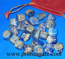 Lapis Lazuli Rune Set | Runes For Sale | Wiccan Rune Set For Sale