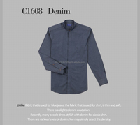 [Chris Shirt-Tailormade] Denim