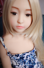 128cm Young Little Cute Face Fair Girl Adorable Flat Chest No Little Breast Silicone Sex Doll Real Love Toy Popular 3 Hole Sex