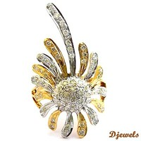 Designer Diamond Ring 14K Ladies Ring