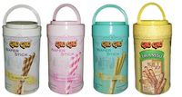 CHO CHO WAFER STICK JAR 260 WITH VARIOUS FLAVOR