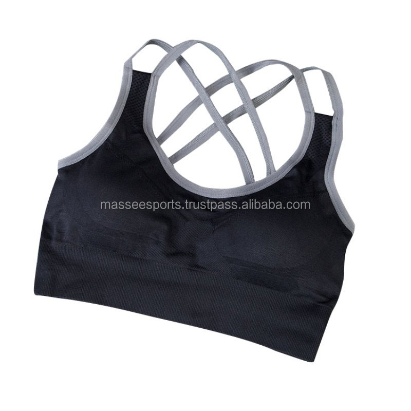 Woman sexy fancy stylish wearing sports bra