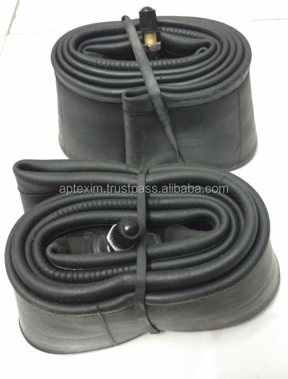 Fine Price butyl finish natural rubber tubes/Motorcycle Inner Tube from india