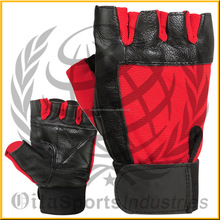 Leather Weightlifting Grip Palm Pads Gloves/Weight Lifting Hand Pads/Fitness Gym Grip Pads design by Oita Sports Industries