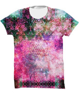 Pineal Metatron Galaxy custom sublimation t shirt / sublimated shirts made Pakistan