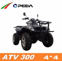 (PEDA Motor) 2016 new ATV 4*4 Quad for sale 300cc water cooling (ATV 300)