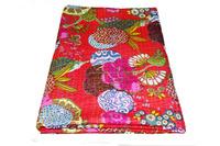 kantha quilt kantha quilt fabrics fruit print quilt