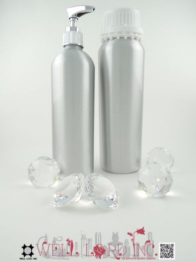 650ml screw on cap with pull-ring gasket aluminum bottle
