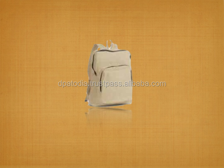 Recycled Canvas Library Backpack