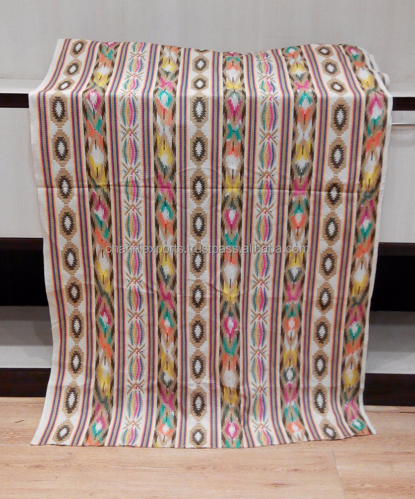 New Latest Design multi purpose boho fashion handloom fabric