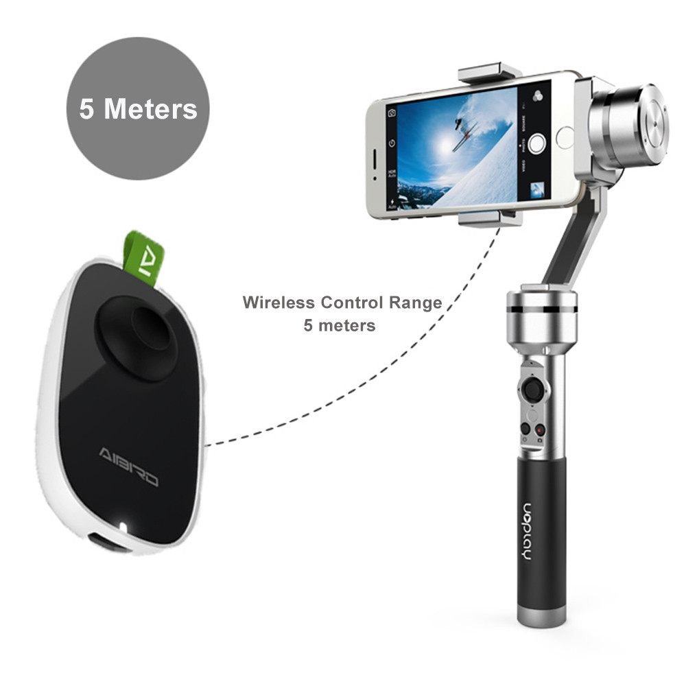 AIbird Uoplay 3-Axis Handheld Gimbal Stabilizer with 2.4G RF Wireless RC Remote Radio Controller C-D0388