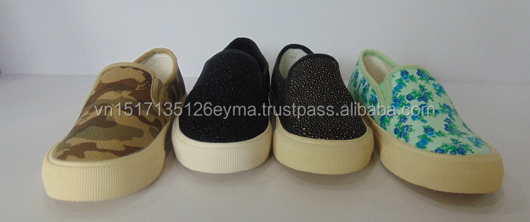 canvas slip on shoes Wholesale