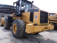 Original Paint Used Cat Wheel Loader 966G /Caterpillar 966 950 Wheeled Loader in Shanghai China